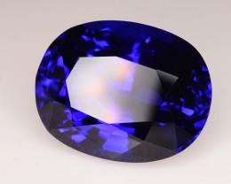 AAA Grade 36.20 ct Tanzanite D-Block color eye catching