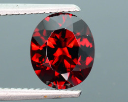 Open Red Color 3.15 ct Garnet Ring Piece