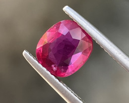 Natural Ruby 2.00 Cts Beautiful Color Gemstone.