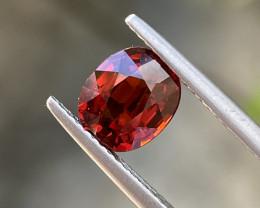 Natural Spessartite 2.64 Cts Nice Color Gemstone.