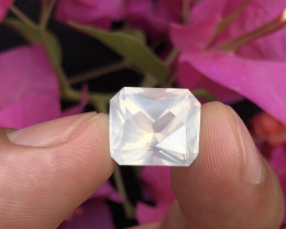 Sparkle Moonstone 10.10 cts High Grade Moonstone Funcy Cut Piece Ring~RS
