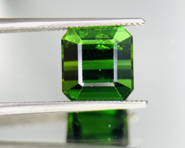 6.10 Cts Vivid Green Natural Tourmaline Gemstone