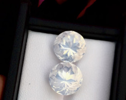 Sparkle Moonstone 11.85cts High Grade Moonstone Funcy Cut Piece Ring~T