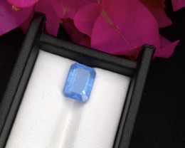 Top Grade 4.70 ct lovely Aquamarine Ring Size