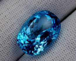 18.55CT BLUE TOPAZ BEST QUALITY GEMSTONE IIGC68