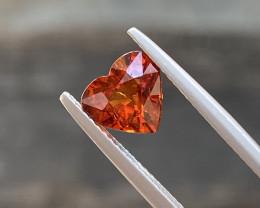 Natural Spessartite 2.00 Cts Nice  Color Gemstone