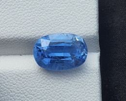 4.20 carats aquamarine beryl gemstone
