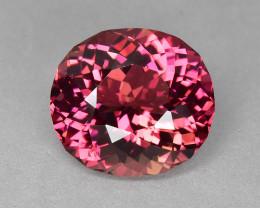 12.65 Cts Wonderful Perfect Cut Natural Pink Tourmaline