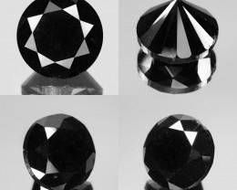 Diamond 8.23 Cts IGI Certified Fancy Black Color Natural