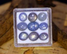 Blue Star Sapphire 14.96Ct Burmese Unheated Blue Star Sapphire Lot A0513