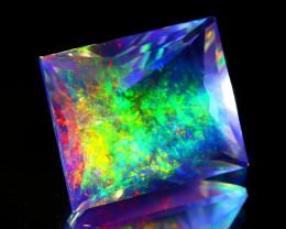 ContraLuz 16.09Ct Octagon Cut Mexican Very Rare Species Opal A0517