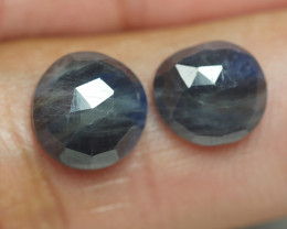 6.300 CRT PAIR BEAUTIFUL FACETED AMAZING MADAGASCAR RUBY -