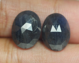 11.290 CRT PAIR BEAUTIFUL FACETED AMAZING MADAGASCAR RUBY -