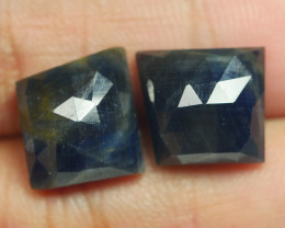 18.115 CRT PAIR BEAUTIFUL FACETED AMAZING MADAGASCAR RUBY -