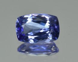 Natural Tanzanite 2.89  Cts Top Grade  Faceted Gemstone