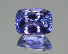 Natural Tanzanite 3.40 Cts Top Grade  Faceted Gemstone