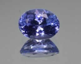 Natural Tanzanite 3.41  Cts Top Grade  Faceted Gemstone