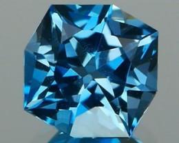 *NR* Precision Cut London Blue Topaz 1.03Ct