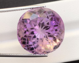 Top Quality Cutting 36Ct Sparkling Color Natural Amethyst S1