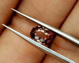 1.22Crt Pink Tourmaline Natural Gemstones JI59