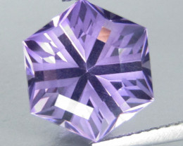 4.03Cts Unique Ultra Quality Natural Amethyst Fashion Octagonal Cut Loose G
