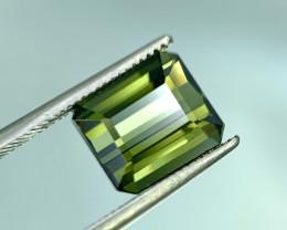 3.75 Cts Natural Green Tourmaline Gemstone