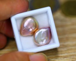 20.83ct Natural Australia South Sea Keshi Pearl Freeform Pearl Lot GW8871
