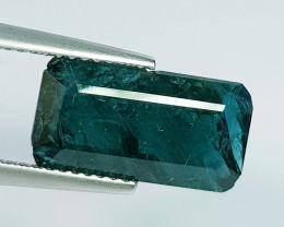 4.84 ct Exclusive Gem Superb Emerald Cut Natural Grandidierite
