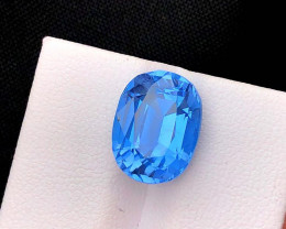 6.15 cts, Aquamarine Gemstone , Presenting Collection Grade Classic Santa M