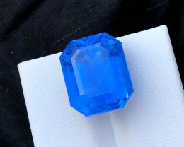 16.10 cts Aquamarine Gemstone , Presenting Collection Grade Classic Santa M