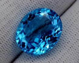 14CT BLUE TOPAZ BEST QUALITY GEMSTONE IIGC69
