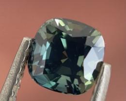 1ct Unheated teal sapphire
