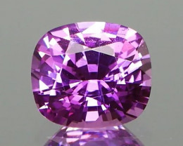 NO HEAT Madagascan Vibrant Pink Sapphire 1.35Ct