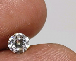 Certified $836  0.50 cts  White loose Diamond Round Brilliant