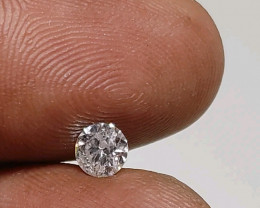 Certified $814 0.52cts  White loose Diamond Round Brilliant