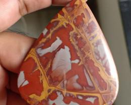 100 Ct Iron Man Jasper 100% NATURAL AND UNTREATED VA481