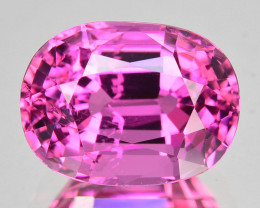 4.69 Cts Mind Blowing Natural Sweet Pink Tourmaline Oval Mozambique