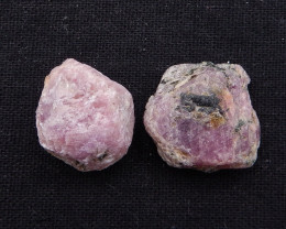 D1919 - 122cts Unique Red Ruby Gemstones, Raw Ruby Cabochons, Ruby Specimen