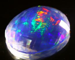 ContraLuz 35.57Ct Precision Cut Mexican Very Rare Species Opal B0608
