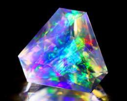 ContraLuz 1.87Ct Trillion Cut Mexican Very Rare Species Opal B0617