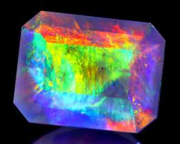 ContraLuz 1.72Ct Octagon Cut Mexican Very Rare Species Opal B0626