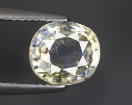 2.240 Cts Yellow Sapphire Oval 100% Natural Unheated From SriLanka