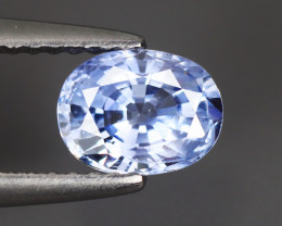 1.100 Cts Blue Sapphire Oval100% Natural Unheated From SriLanka