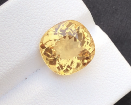 5.95Ct Natural Heliodor ~ AAA Grade ~ Yellow Color