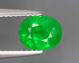 1.805 Cts Tsavorite Oval Chrome Green Garnet 100% Natural Unheated
