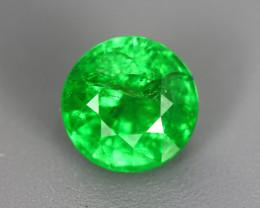1.720 Cts Tsavorite Round Chrome Green Garnet 100% Natural Unheated