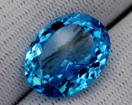 16.85CT BLUE TOPAZ BEST QUALITY GEMSTONE IIGC70