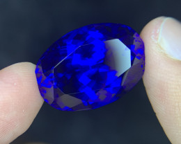 56.13 CTs D Block Huge Size Collector Piece of Tanzanite Gem