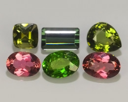 3.70 CTS AWESOME NATURAL FANCY TOURMALINE EXCELLENT GEM!!