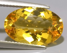 5.75 CTS AMAZING NATURAL HELIODOR GOLDEN YELLOW BERYL